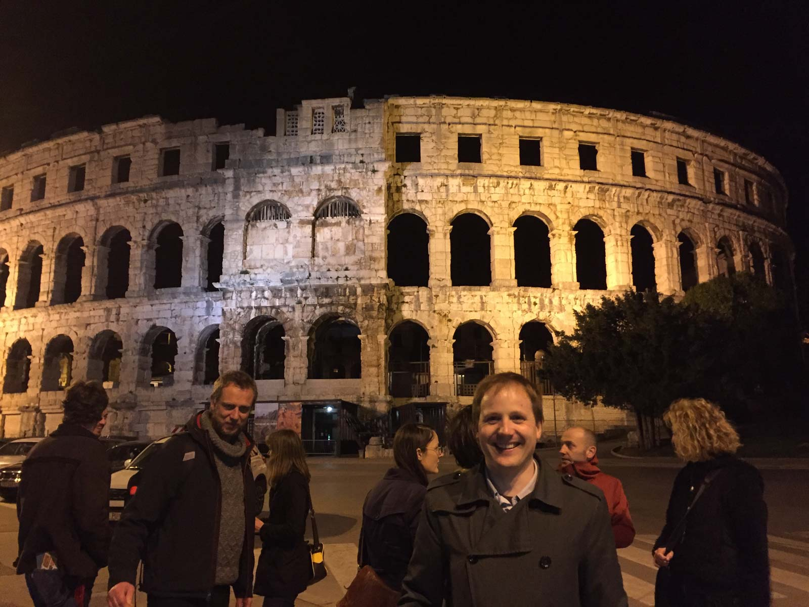 Pula - Excursion by night